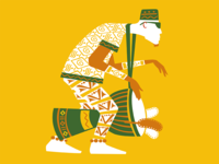 Guinea djembe drummer