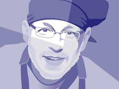 CX30 Portrait vector portrait flat branding design illustration