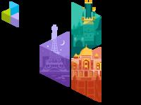 D3 logo - Cities