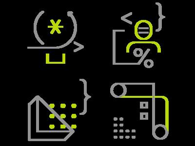 Vs Launch Event Pillar Image Dev visual studio microsoft ux ui icon logo flat vector branding illustration design