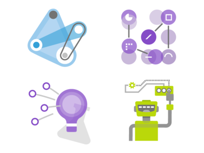 Vs Launch Event Pillar Image Dev visual studio microsoft ux ui icon logo flat vector branding illustration design
