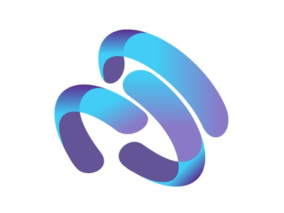 Data+AI logo visual studio microsoft ux ui logo flat vector branding illustration design
