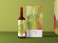 Wine Bottle Packaging - Apple