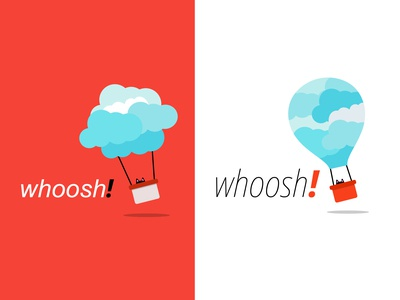 Daily Logo #01 - whoosh!