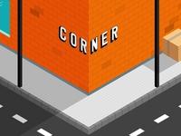 Isometric Corner
