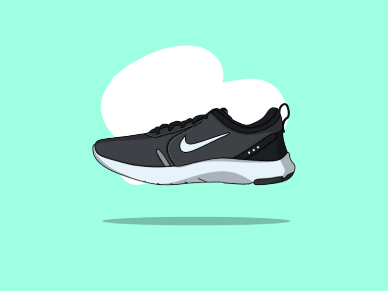NIKE FLEX EXPERIENCE logo vector graphic design central shoes nike dribbble graphic designer vector art design sports vector design graphic design