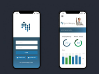 Treklytics app interface and experience design