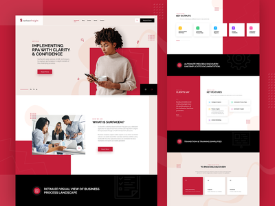 Consulting Company Custom Web Design web design uidesign consulting red black hero themes agency rezfelix themeforest theme design theme for wordpress ux website wordpress ui webdesign web design