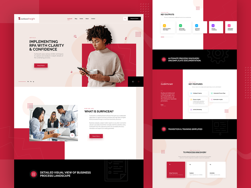 Consulting Company Custom Web Design