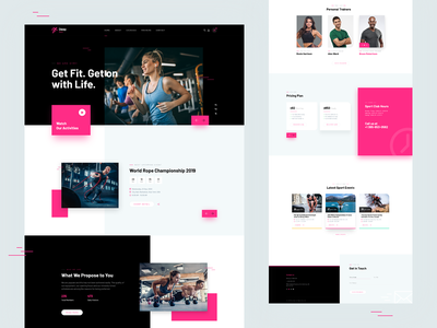 Sports Design Theme train trainers product design product gym sports uiux ui website themeforest theme design wordpress theme for wordpress website design rez felix web design rezfelix webdesign web design