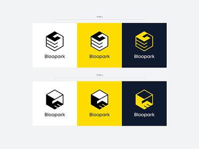 Bloopark Logo Design and Branding brand design branding design brand identity logos rezfelix logo design styleguide style guide branding logodesign logo design