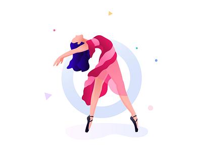 Ballet Dance web design rezfelix girl drawing skech pencil ballet dance dance ballet vector illustration