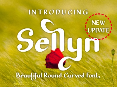 Sellyn Beauty Fonts products fonts brand coffee shop coffee boutique beauty branding logo design font design font awesome