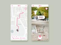 Daily Ui #020 : Location Tracker