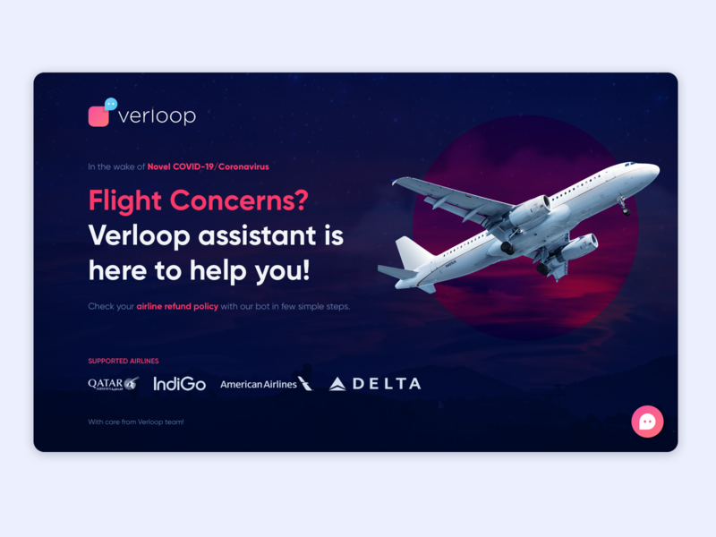 Airline Query Chatbot Website - Covid-19 interface interaction responsive website responsive covid-19 airline website design chatbot website design ux ui