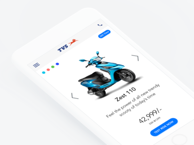 TVS App - Redesign mobile ios design app ui ux tvs