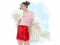 fashion sketch №2