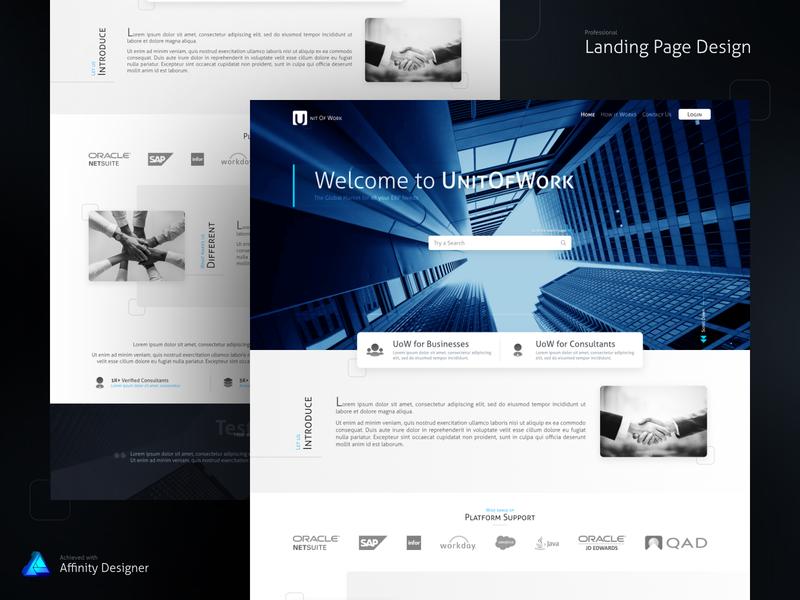 Landing Page Design website landing page web design web