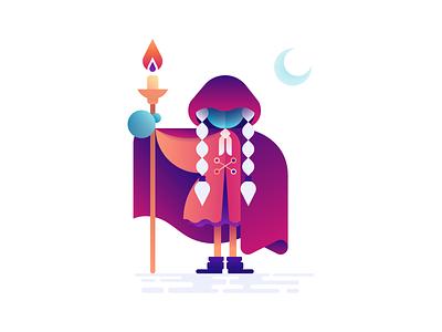 The Big Elixir Sorceress elixir illustration design vector