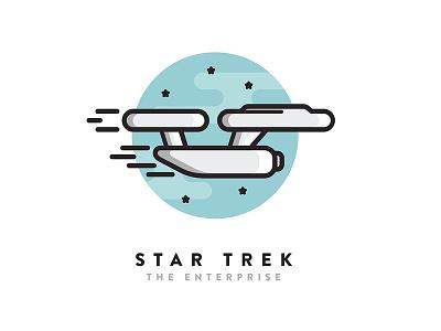 Star Trek Icon sci-fi simple icon icon design star trek