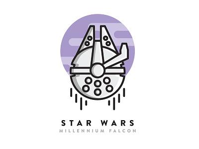 Star Wars Icon simple icon sci-fi icon design star wars