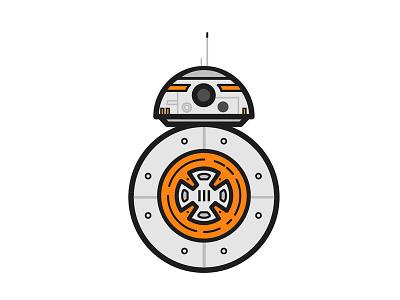 BB8 - Star Wars Illustration movie illustration illustration sci-fi bb8 star wars