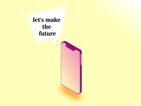 Isometric Desing Phone