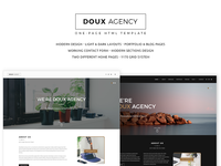 Doux One Page Html Template
