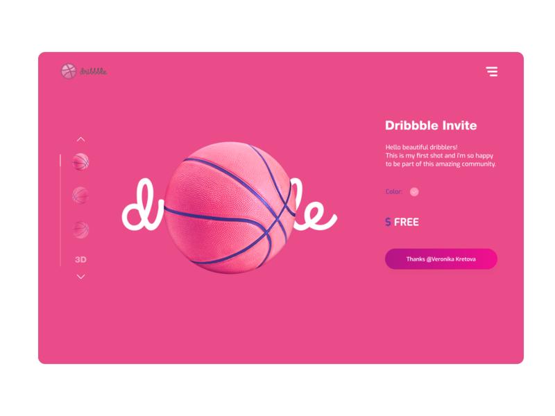 Hello! invitation card hello webdesign e-commerce shop debut