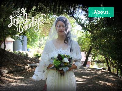 Hello, The Irish Goodbye wedding responsive photography vignette slideshow blur opacity linear gradient animation