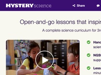 Mystery Science Homepage Sneak Peek