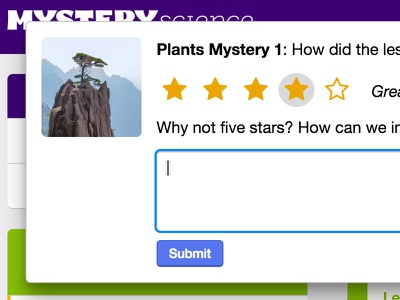 Mystery Review Dialogue five star dialogue prompt reviews ratings mystery