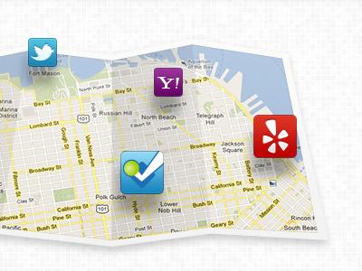 Social Media Map textured background map social media