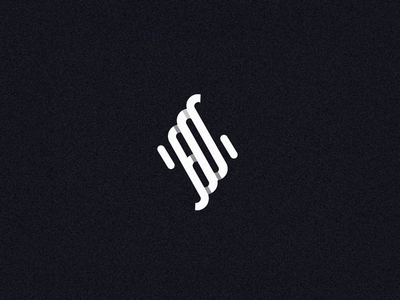 fdb reflection growth repetition branding white black logo