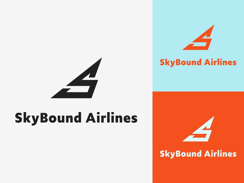 SkyBound Airlines -Daily Logo Challenge Logo 12/50
