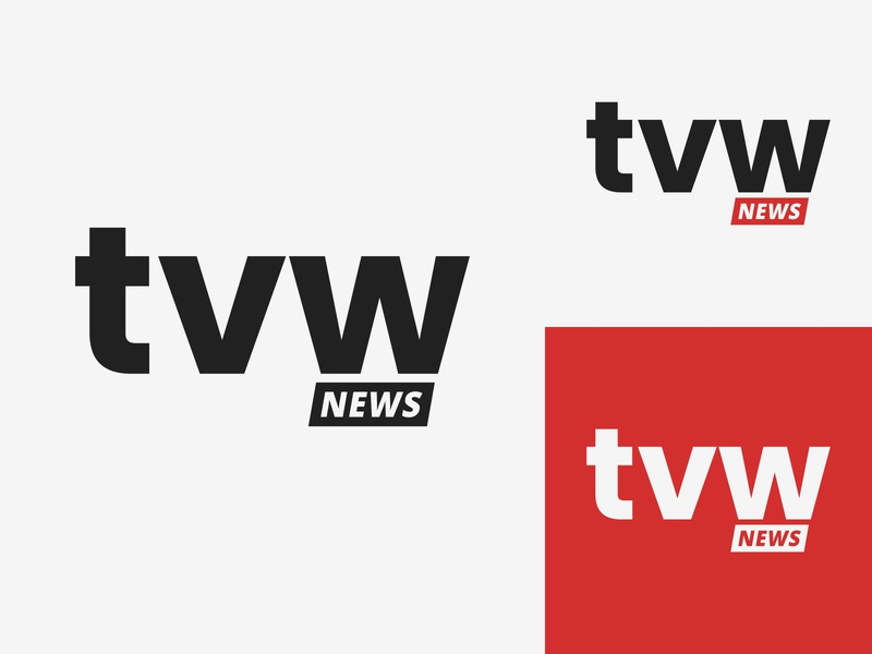 37/50 Daily Logo Challenge - Television News Network branding newsfeed report typography graphic design logo branding design dailylogo dailylogochallenge sportz globe news tvw network news television