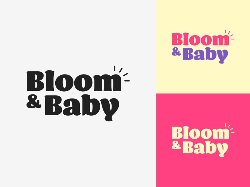 46/50 Daily Logo Challenge - Baby Apparel Brand clothes helen blog typography logotype adobe minimalist dailylogo dailylogochallenge design logo branding brand apparel craw baby bloom