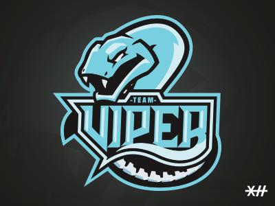 "Viper eSports Logo ""Team Viper"""