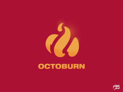 OctoBurn Icon Logo