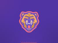 Bear Dog Mascot Logo