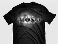 "MONO - T-shirt ""Ashes in the snow"""