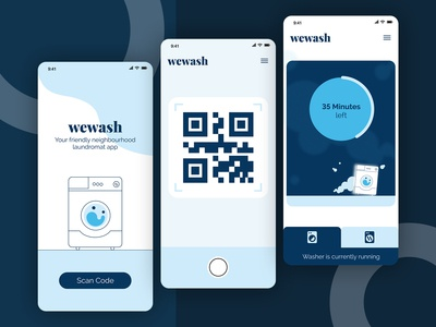 wewash | App Design