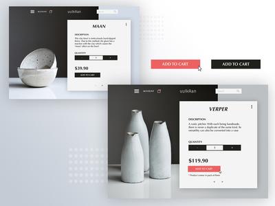 vulkAan | Website Design