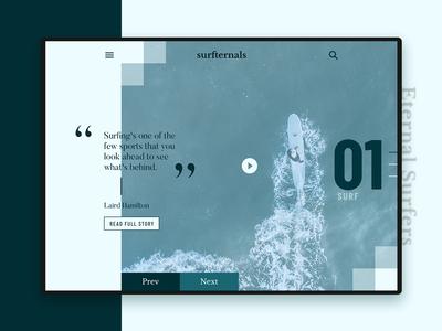 Surfternals | Website Design