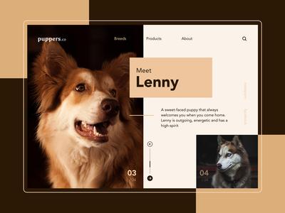 puppers.co | Website Design