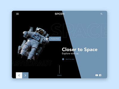 SPCEN | Website Design