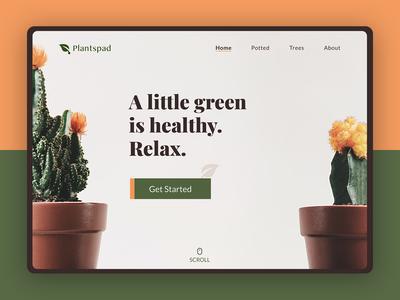 Plantspad | Website Design
