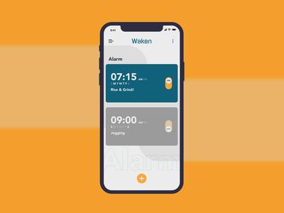 Waken | App Design