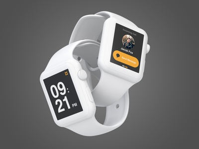 Apple Watch Screens UI