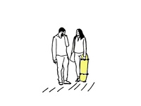 Random Couple. City life